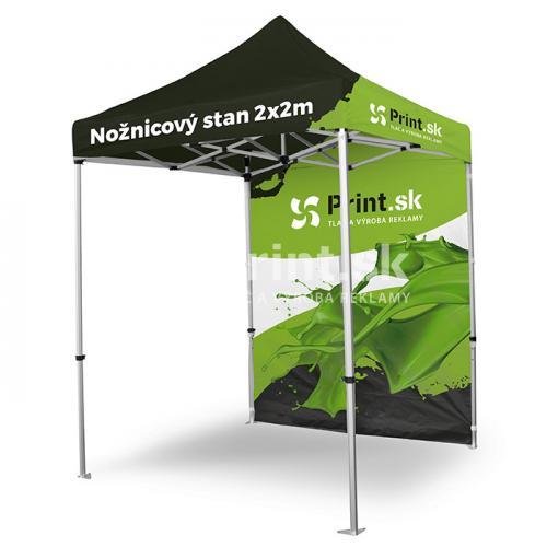 Nožnicový stan Zoom Tent 2x2m s tlačou