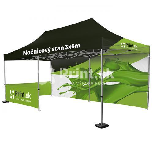 Nožnicový stan Zoom Tent 3x6m s tlačou