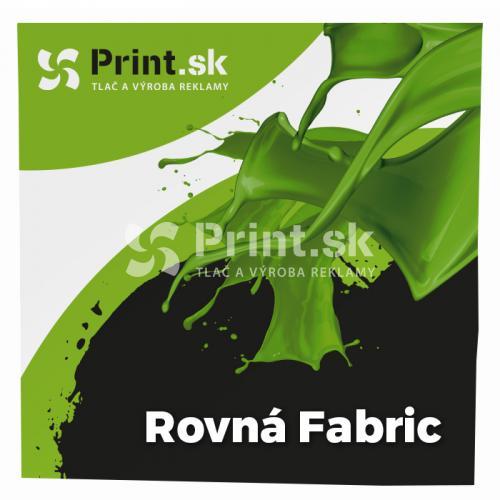 Pop Up textilná stena Fabric rovná s tlačou