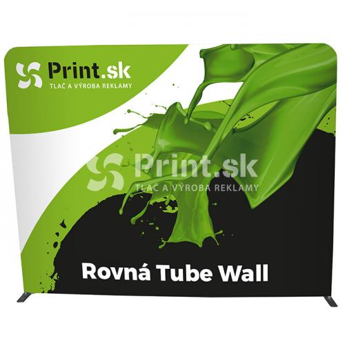 Textilná stena Tube Wall rovná s tlačou