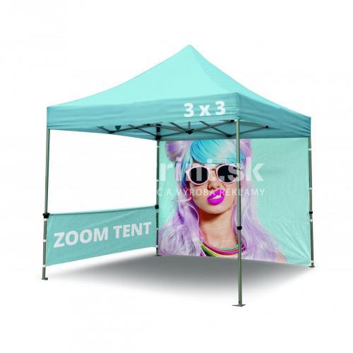 Nožnicový stan Zoom Tent 3x3m s tlačou
