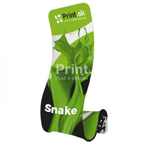 Prezentačná textilná stena Snake s tlačou